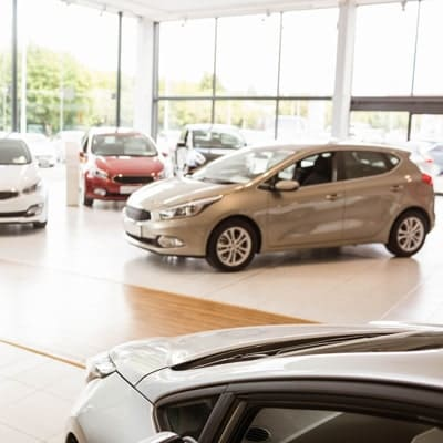 Showroom automobile